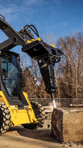New Hydraulic Hammers Break Into the John Deere Attachments